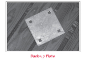 Back Up Plate, Residential