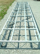 Galvanized Steel Truss Frames