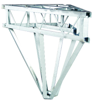 Galvanized Winch Stand